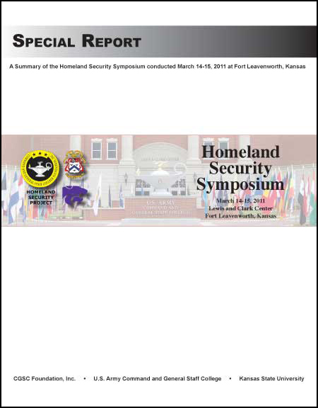 Homeland Security Symposium Report published