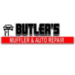 Butler's Muffler & Auto Repair logo