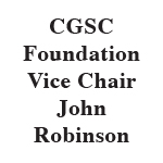 CGSC Foundation Vice Chair John Robinson