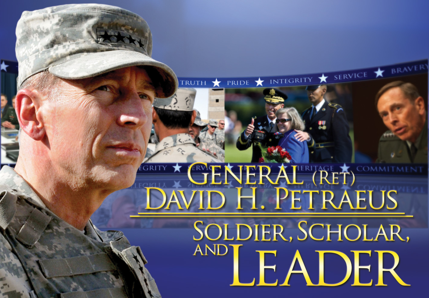 click the image to view the 2012 Distinguished Leadership Award tribute video for Gen. Petraeus