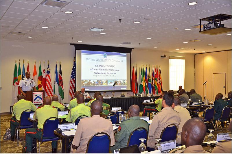 Foundation Supports African Army Alumni Symposium