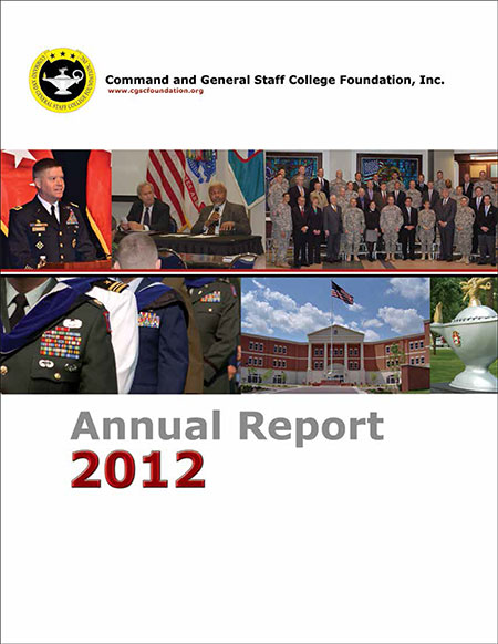 2012 CGSC Foundation Annual Report and Simons Center Progress Report available