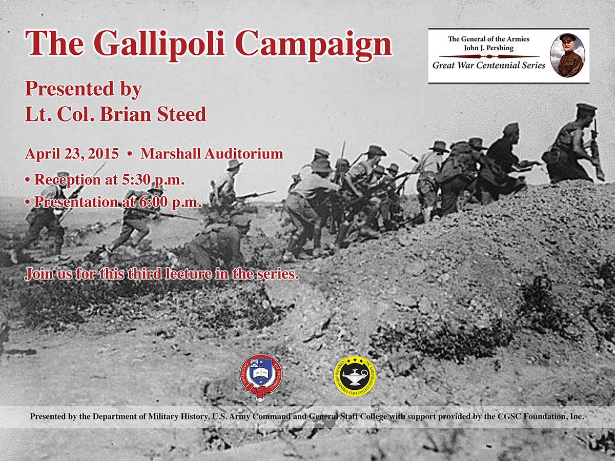 Public invited to presentation on WWI Gallipoli Campaign April 23