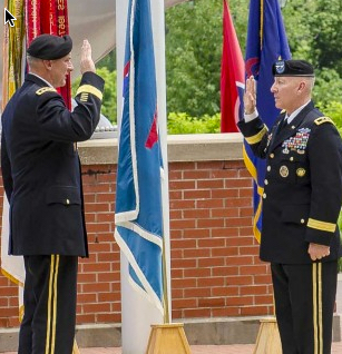 Deputy Commandant promoted, reassigned