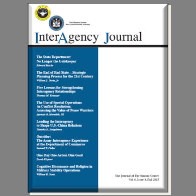 InterAgency Journal 6-4 (Fall 2015)