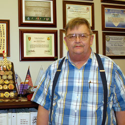 Head of CGSC's classroom services is Person of the Month