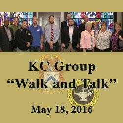 KC group takes 'Walk and Talk' tour