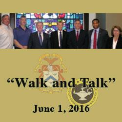 Walk and Talk program highlights post history, student caliber