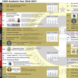 2016 2017 academic year calendar available online command and