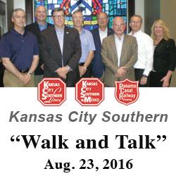 Kansas City Southern Execs visit Fort Leavenworth
