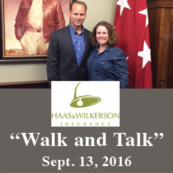 Haas & Wilkerson executives participate in Walk and Talk program