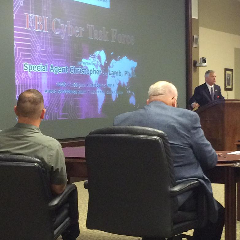 Second InterAgency Brown-Bag Lecture a success