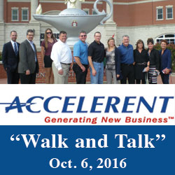 Accelerent partners participate in Walk and Talk program