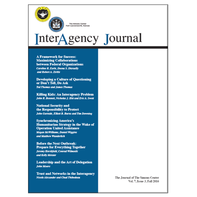 InterAgency Journal 7-3 (Fall 2016)