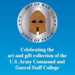 Art of War: Gifts of Peace exhibits in the Johnson County Library System