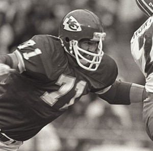 Lindstrom, #71, Defensive End, KC Chiefs, 1977-1986 (photo courtesy chiefs.com)