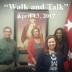 Foundation hosts 'Walk and Talk' April 13
