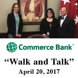 Commerce Bank reps visit CGSC
