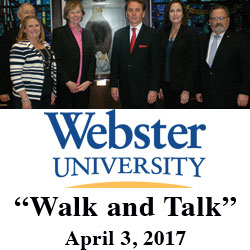 Webster University leadership visits CGSC, Fort Leavenworth