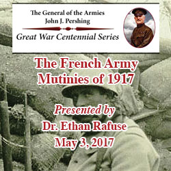 World War I lecture – May 3