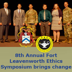 8th Annual Fort Leavenworth Ethics Symposium brings change
