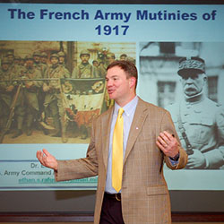 French Army mutinies topic of Great War lecture