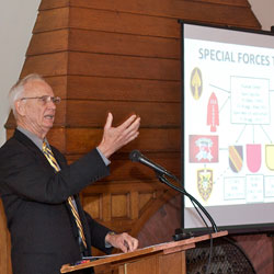 Lecture focuses on Special Forces in Vietnam
