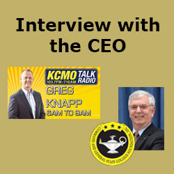 Foundation CEO interview with KCMO Talk Radio