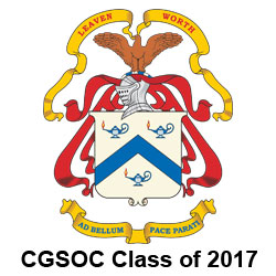 CGSOC Class of 2017 – Persons of the Month for June
