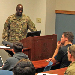 SAMS student featured in DoD's 'Face of Defense'