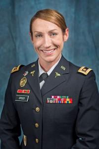 Maj. Genna Speed