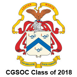 CGSOC Class of 2018 – Persons of the Month for June