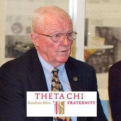 Foundation trustee receives collegiate fraternity's achievement award