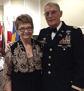 Maxine Hunter and husband Tab, a retired Army lieutenant, have sponsored more than 35 international military students at CGSC.