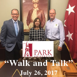 Park University reps tour CGSC, Fort Leavenworth