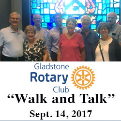 Gladstone Rotary Club reps tour CGSC, Fort Leavenworth