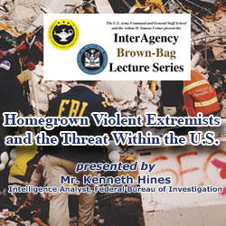 FBI analyst briefs on homegrown violent extremism