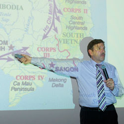 Vietnam lecture highlights Naval operations