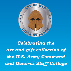 Art of War: Gifts of Peace exhibit at the Johnson County Library