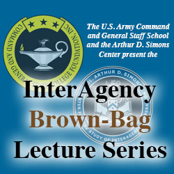Next InterAgency Brown-Bag Lecture April 3