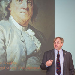 Brown-bag lecture features State Department presentation