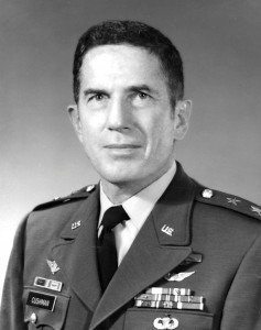Lt. Gen. Cushman's photo while assigned as Commander, Combined Arms Center and Fort Leaveworth/Commandant, U.S. Army Command and General Staff College, 1973-76.