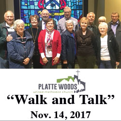 Local church members participate in Walk and Talk program