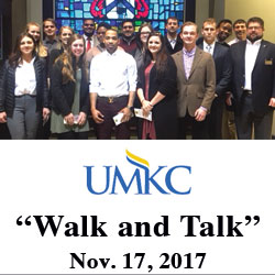 UMKC students participate in Walk and Talk