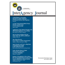 InterAgency Journal 8-4
