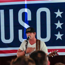 Chairman's USO Tour 2017 visits deployed troops