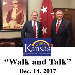 Kansas Department of Transportation leaders visit Fort Leavenworth