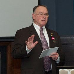 CGSC selects Dr. Kevin Shea as Emeritus Professor