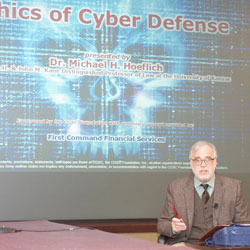 Ethics of cyber defense topic of latest brown-bag lecture