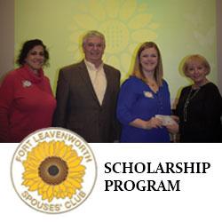 Foundation contributes to Spouses Club scholarship program